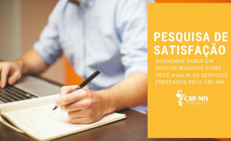 Participe da Pesquisa de Satisfação – CRFMA