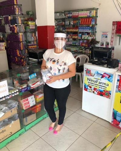 EPI's para os farmaceuticos do Maranhão 5