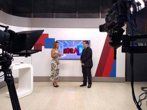 Entrevista Difusora Meio Dia