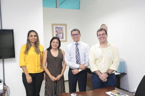 Visita ao Secretário Estadual e Municipal da Saúde de Bacabal-MA