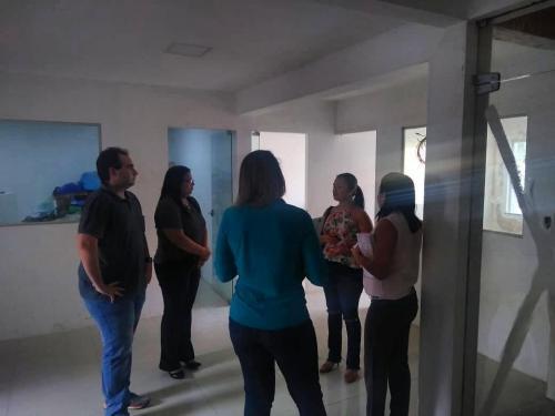 Visita a obra da sede do CRF-MA
