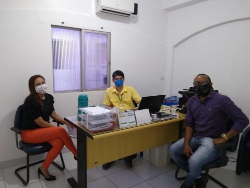 Técnicos de laboratório