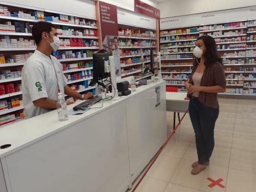 Visitas aos colegas farmacêuticos