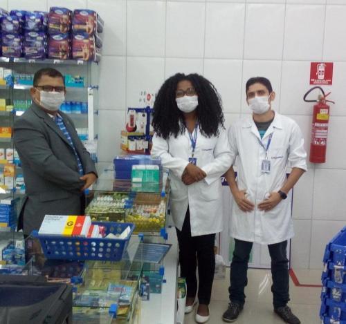 Visita Farmacêuticos São Luís Asan 1