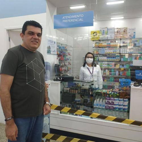 Visita Farmacêuticos São Luís Josué 1