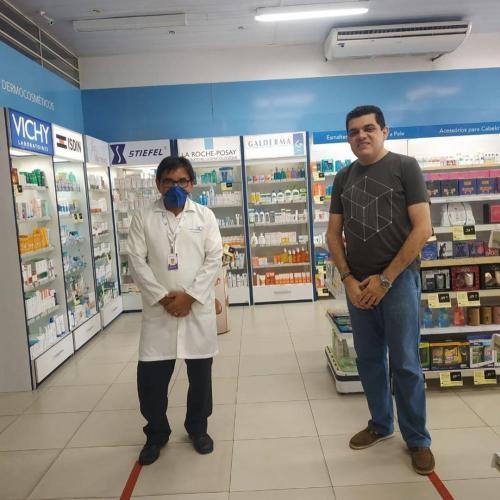 Visita Farmacêuticos São Luís Josué 4