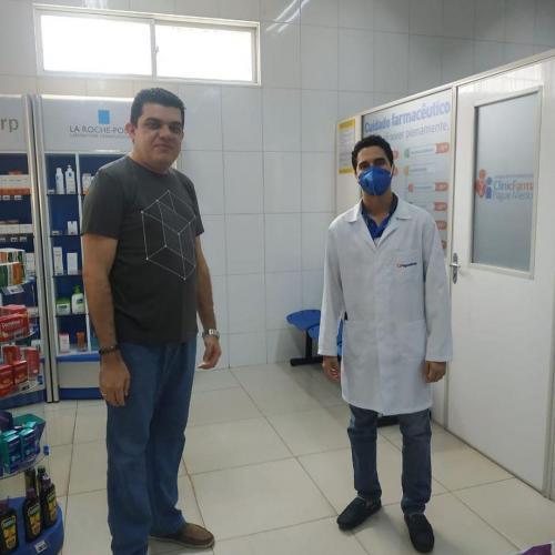 Visita Farmacêuticos São Luís Josué 5