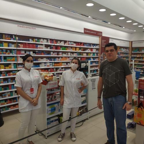 Visita Farmacêuticos São Luís Josué 6