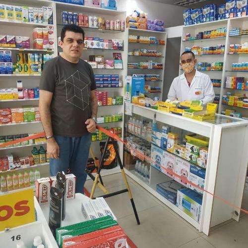 Visita Farmacêuticos São Luís Josué  7