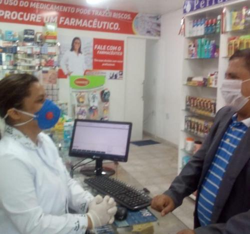 Visita Farmacêuticos  São Luís Asan 2