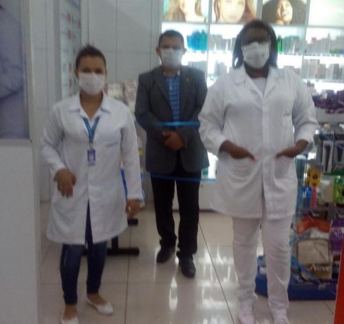 Visita Farmacêuticos  São Luís Asan 3