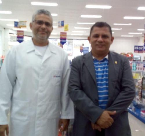 Visita Farmacêuticos  São Luís Asan 4