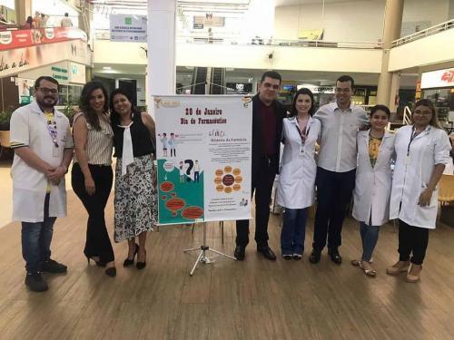 Ação Social em comemoração ao Dia do Farmacêutico (20-01-2020)
